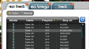Sweet @$! Poker Find Table UI: responsible for all UI programming, some client/server game logic, and all art asset creation